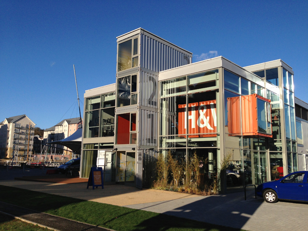 Recycled Shipping Containers Create A New Bar And