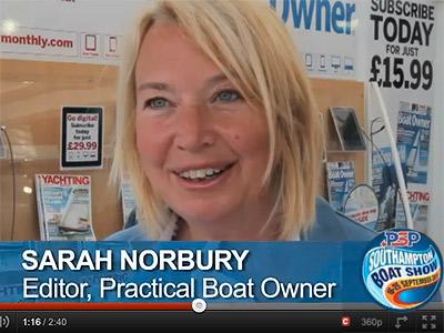 Sarah Norbury, 2011 PBO Green Awards video