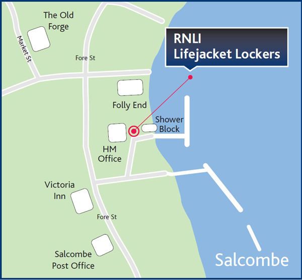 Lifejacket lockers