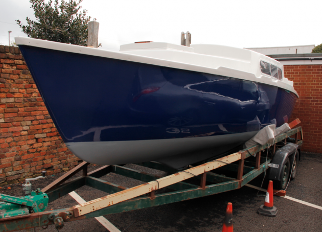 Topcoating the PBO Project Boat