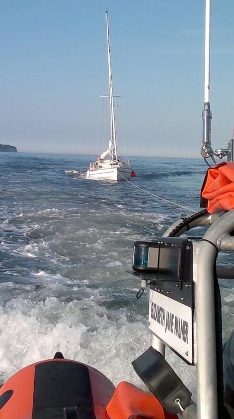 Flamborough's inshore lifeboat