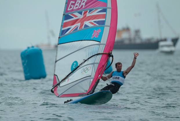 RS:X windsurfer Nick Dempsey. Credit onEdition