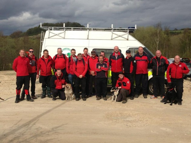 Yorkshire and Lincolnshire Search and Rescue team