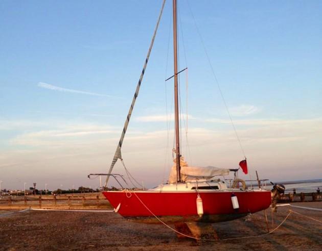 The Albatross is being sold by Littlehampton Harbour Board