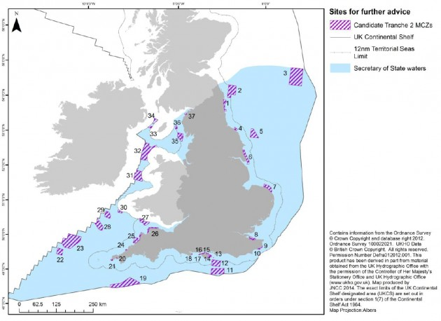 Tranche 2 of MCZs in English waters