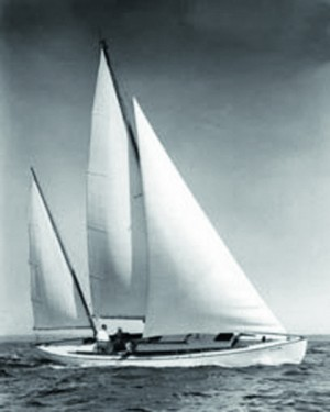 Early glass-reinforced plastic (GRP) boats