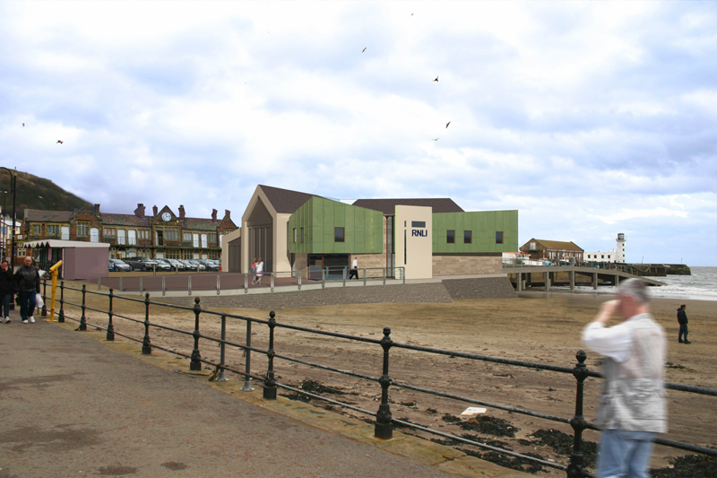 New 3million Lifeboat Station Proposed For Scarborough