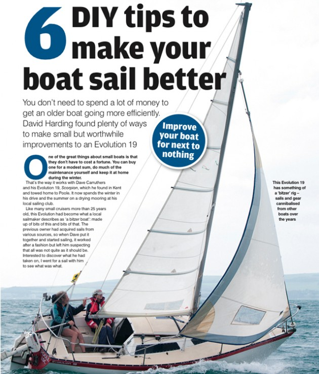 Six DIY tips to make your boat sail better - Practical Boat