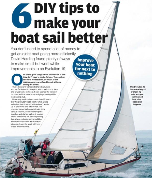 Sailing tips article, June 2013 PBO