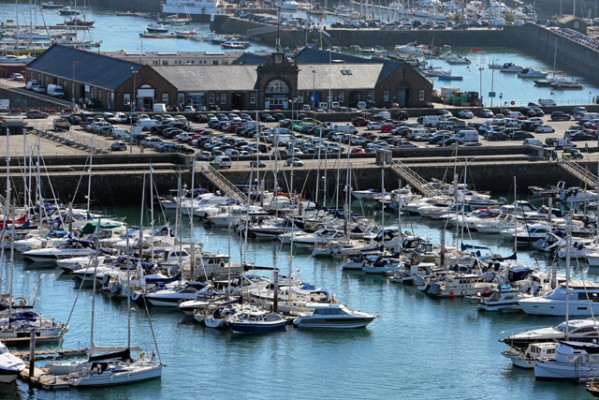 St Peter Port QEII Marina and harbour. Credit: Guernsey Press
