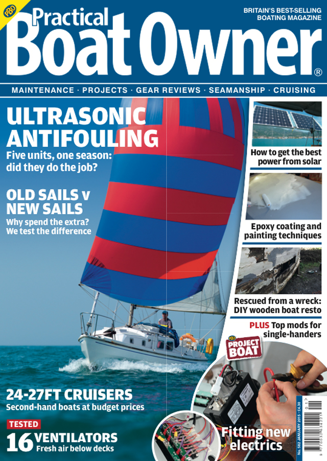 65 ways to cut the cost of your boating practical boat owner pbo cover january 2015 fandeluxe Images