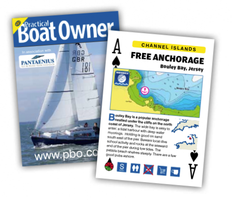 PBO Free Anchorages Playing Cards