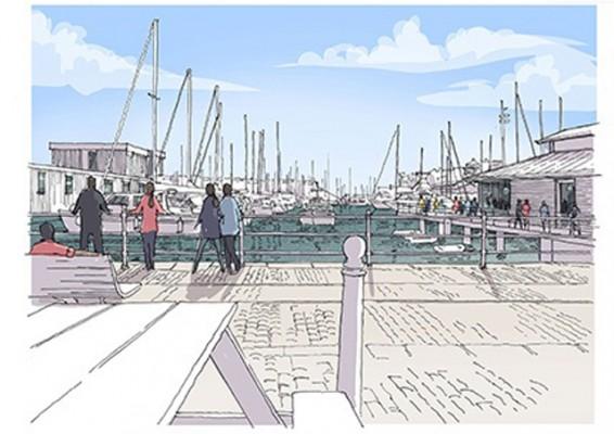 Sutton Harbour Boardwalk scheme