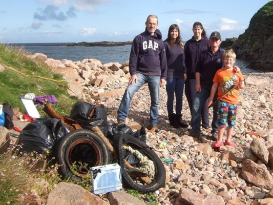 Great British Beach Clean 2014