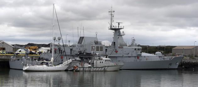 The Makayabella yacht's drug haul was seized by the Irish authorities