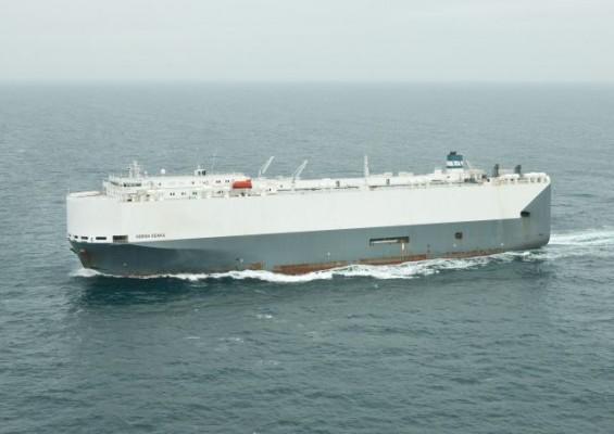 Höegh Osaka at sea