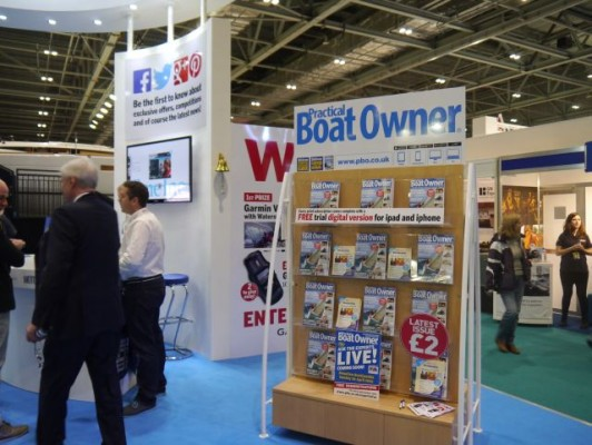 London Boat Show 2015- The Practical Boat Owner stand A090