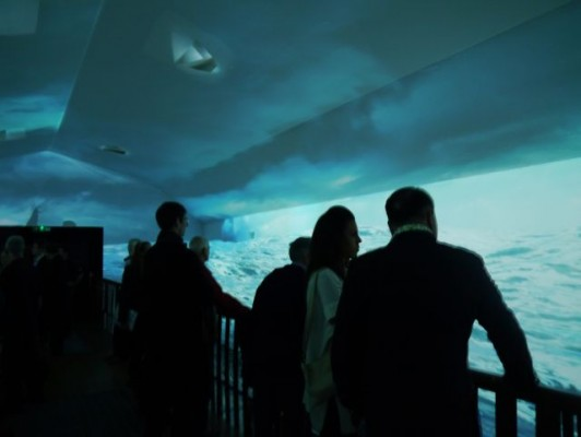 London Boat Show 2015- inside the 4D Experience