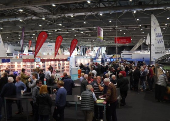 London Boat Show 2015- opening day