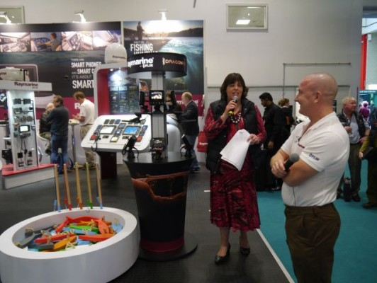London Boat Show 2015-the Raymarine press event