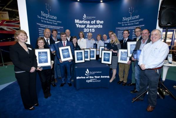 Marina of the Year Award winners runners up