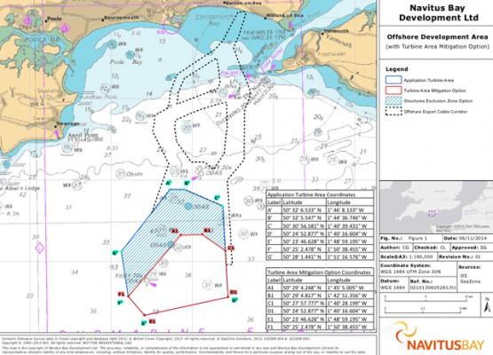 Navitus Bay Offshore Development Area - with Turbine Area Mitigation Option