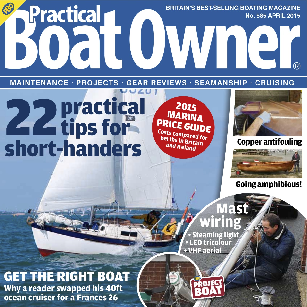 April issue on sale today! - Practical Boat Owner