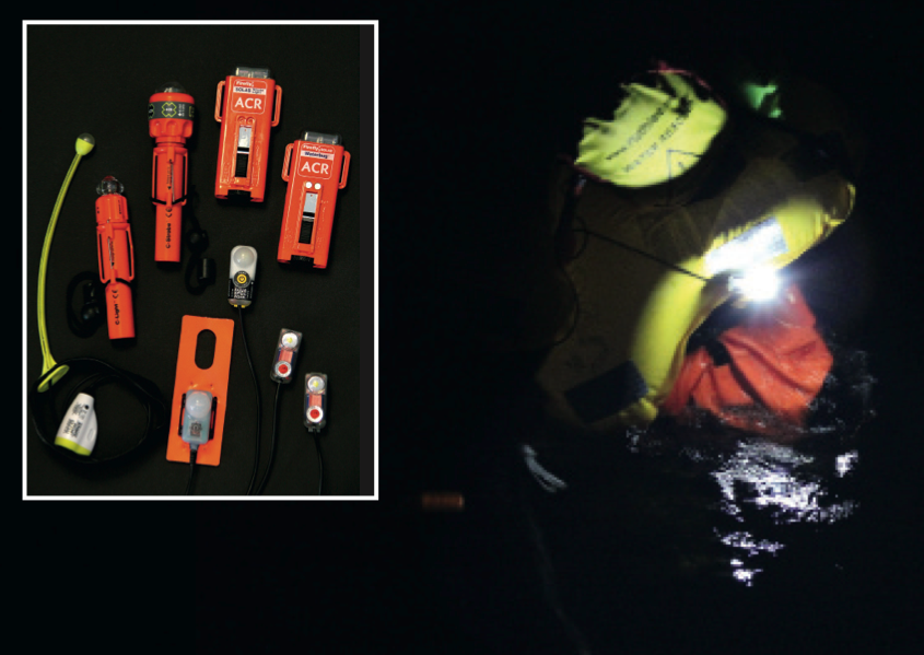 lifejacket lights tested