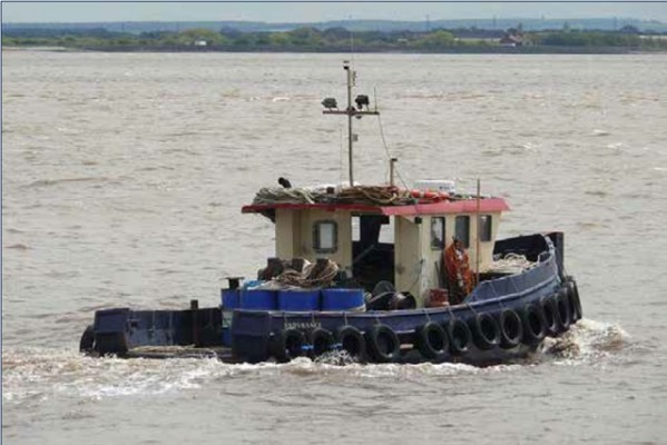 The motor tug Endurance
