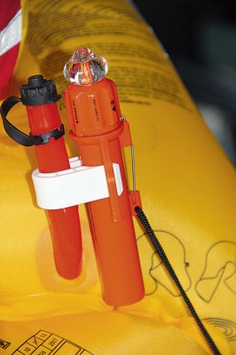 C-lite lifejacket light on test
