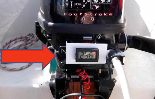 Cheap outboard motor overheat alarm - Practical Boat Owner