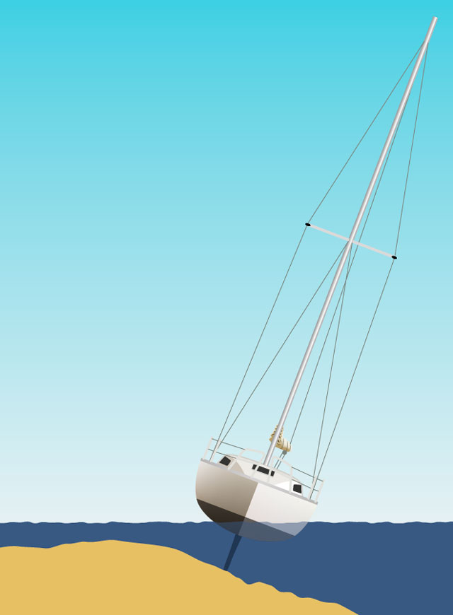 What to do when you run aground - Practical Boat Owner