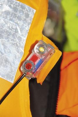 UML Seaflash lifejacket light