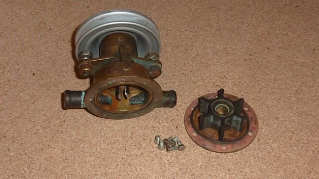 Mend your own engine sea water pump - Practical Boat Owner