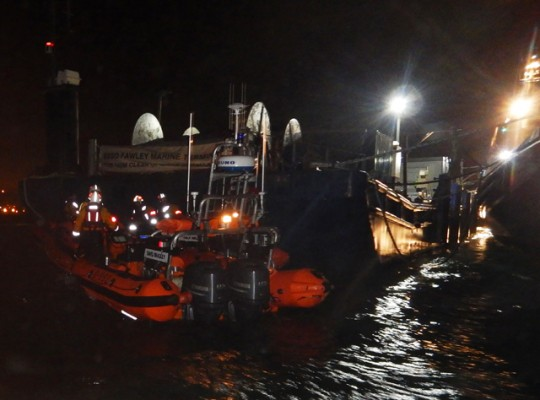 RNLI Tug boat rescue. Credit: RNLI