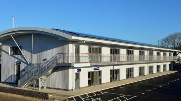 New boatyard development at Swanwick Marina