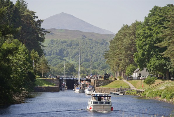 Caledonian Canal reopens