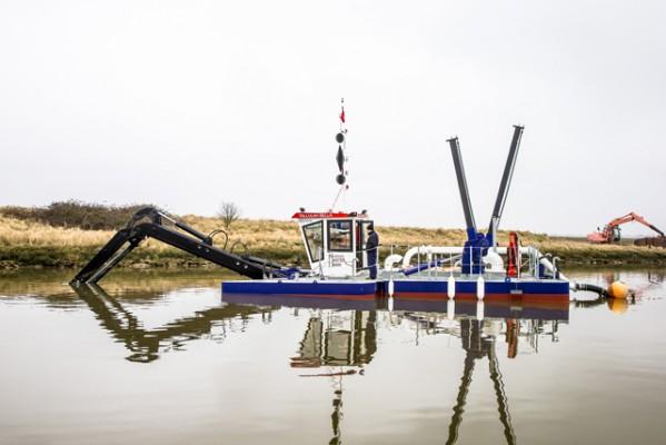 New £800,000 dredger for Brighton Marina