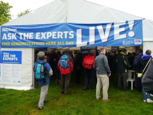 PBO Ask the Experts Live at Beaulieu Boatjumble
