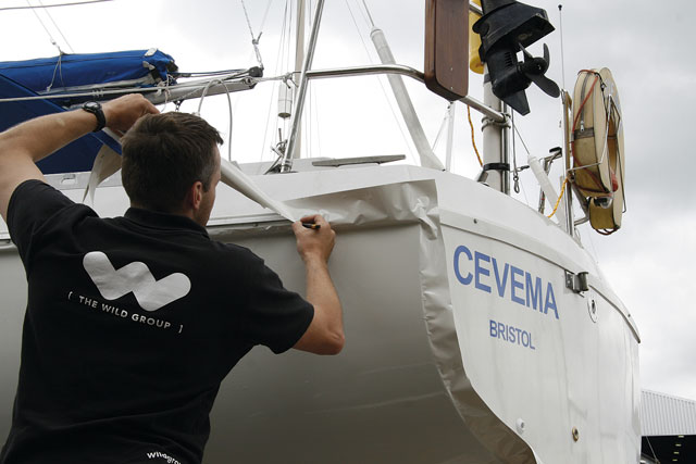 Vinyl wrap your boat's hull - Practical Boat Owner