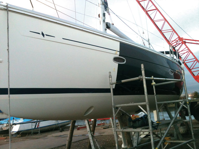 Vinyl Wrap Your Boat S Hull Practical Boat Owner