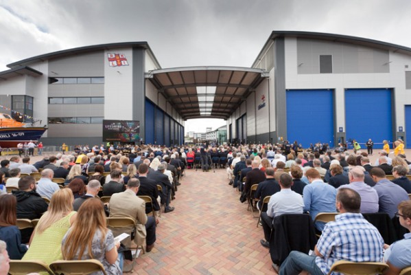 RNLI's All-Weather Lifeboat Centre opening day