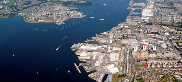 HM Naval Dockyard at Devonport
