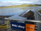 Tighnabruaich's new pontoon at half tide
