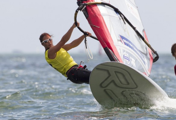 Windsurfer Bryony Shaw. Ocean Images/British Sailing Team