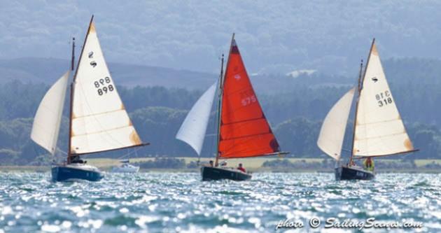 Cornish Shrimpers in Poole Week. Credit: David Harding/SailingScenes