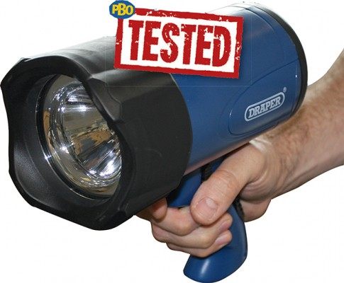 PBO Tested-handheld searchlights