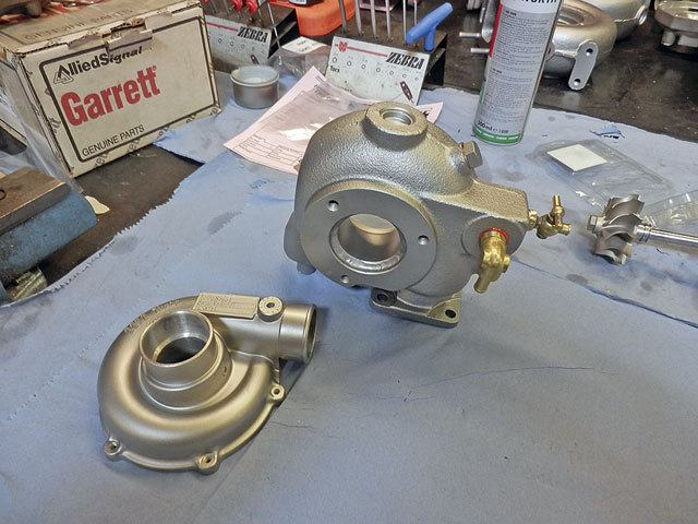 Reconditioning a turbocharger - Practical Boat Owner