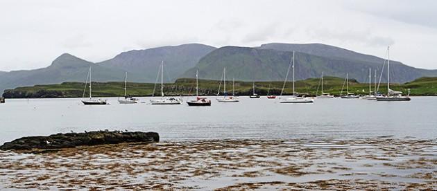 Canna Harbour. Credit: Steve Goldthorp