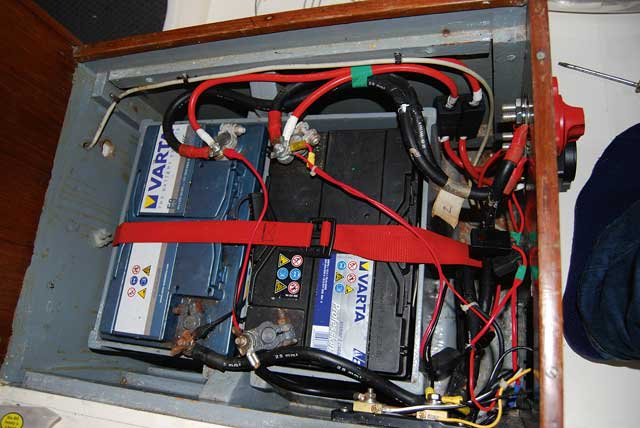 Installing a Automatic Charging Relay (ACR) - Practical Boat ... on